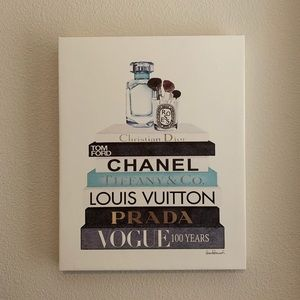 Other - Fashion Water Color Canvas Art